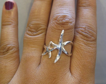 Mother & Baby Starfish Ring