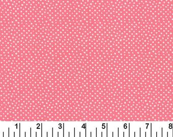 Mini Confetti Dots - Coral by Dear Stella (258-Coral) - Fabric Yardage