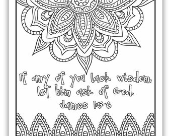 "2017 Mutual Theme Coloring Page 8.5""x11"" - Indian Pattern"