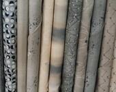 FQ Fabric Bundle of Moda's Nocturne -  11 different fabrics