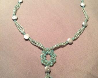 Swarovski elements beaded necklace
