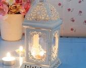 Moroccan Lanterns Wedding Lantern,Metal Candle Holder, Wedding Centerpiece, candle lantern,wedding decor, vintage lantern, decor