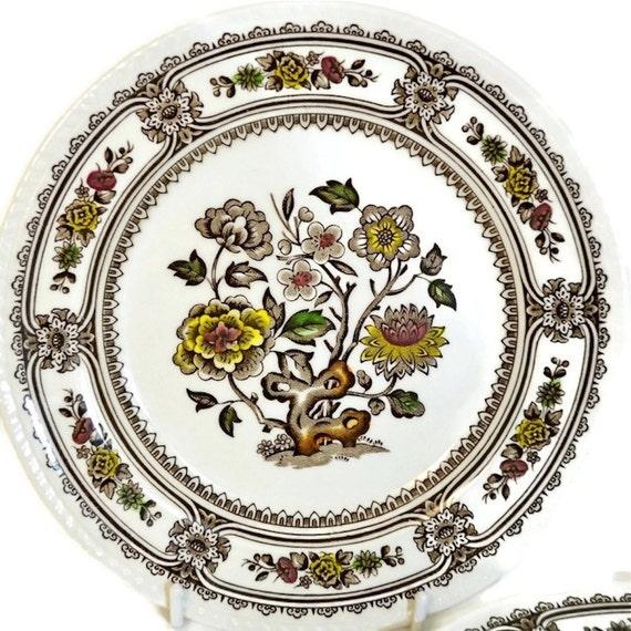 Hout en zonen kleine platen dessert platen of salade platen - Decoratieve platen ...