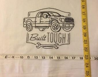 Flour sack dish towel 28x28
