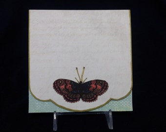 Madame Butterfly - Note Card