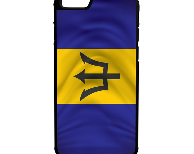 Barbados iPhone Galaxy Note LG HTC Hybrid Rubber Protective Case