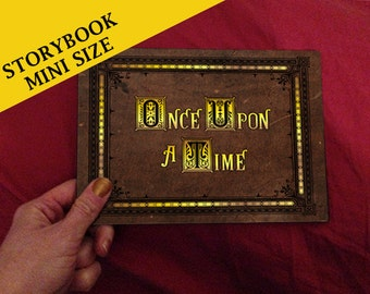 Henry's Once Upon A Time Storybook (inspired) - Mini Storybook - Made To Order