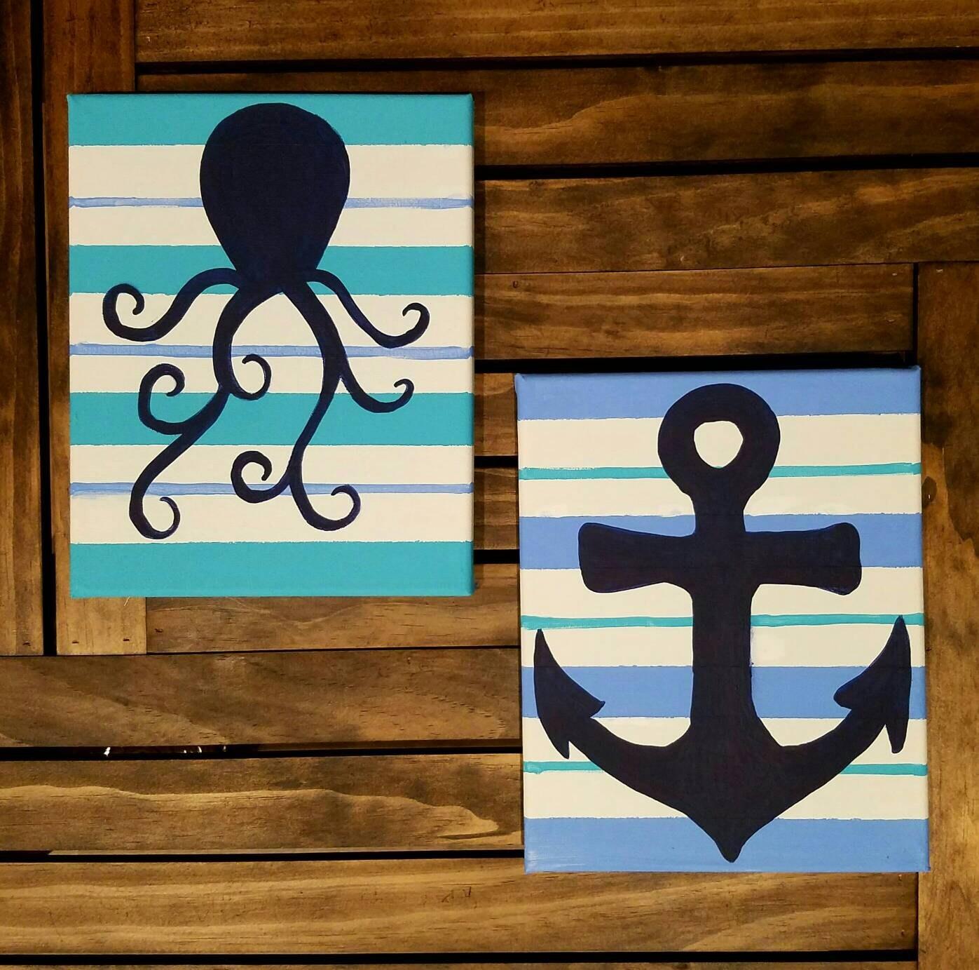 nautical bathroom | etsy