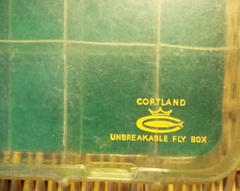"Vintage Cortland ""Unbreakable"" Fly Box"