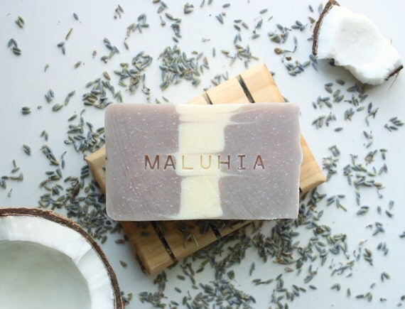 MALUHIA // Handmade // All Natural // Vegan // Lavender // Soap