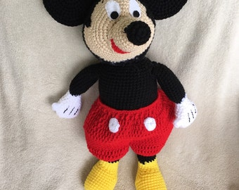 Crochet Mickey Mouse Doll