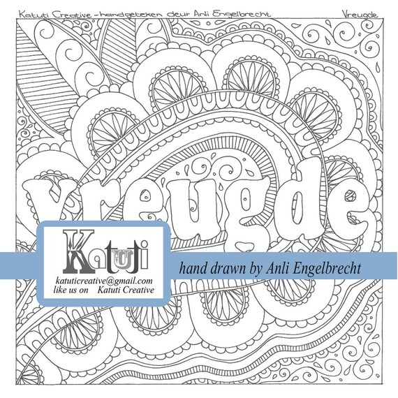 Coloring Book For Adults Meaning : Coloring pages for adults Vreugde meaning