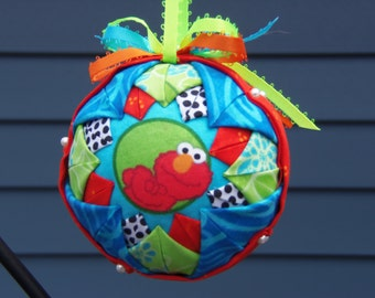 Quilted Christmas Ball