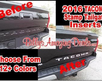 Toyota Tundra Insert Letter Truck Tailgate - Custom tundra truck decals