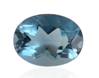 Blue Fluorite Oval Cut Loose Gemstone 1A Quality 8x6mm TGW 1.40 cts.