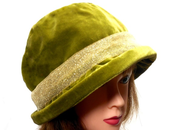 Green Bowler Hat from Corona Hats