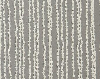 Luxury Bead Striped Platinum Wallpaper R1768
