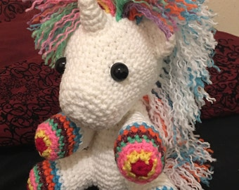 Rockstar Unicorn crochet pattern