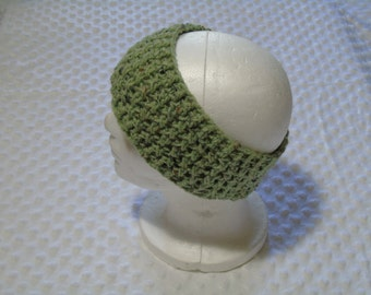 green fleck headwrap