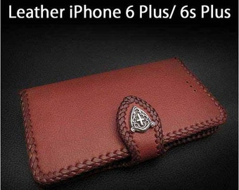 Leather iPhone Case 6/6s Plus K01E05
