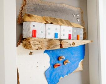 Seaside Living - Driftwood Art