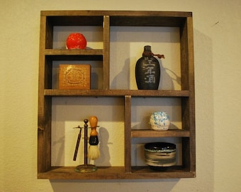 Square Floating Wall Shelf - Style 2
