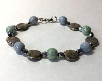Aqua mix bracelet