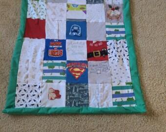 Baby grow patchwork blanket