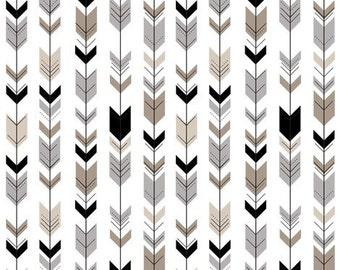 Boppy Cover - Neutral Fletching Arrows
