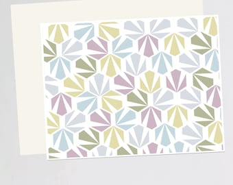 Geometric Print (greeting card)