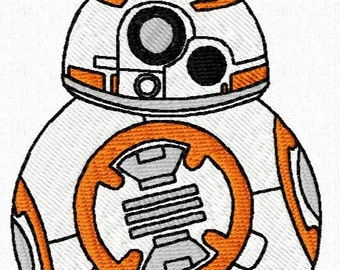 40 Star Wars Episode 7 Machine Embroidery Design Files 4x4 with Finger Puppets