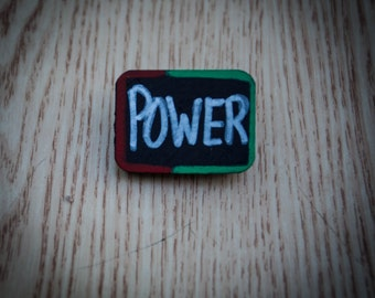 Power Wood Pin