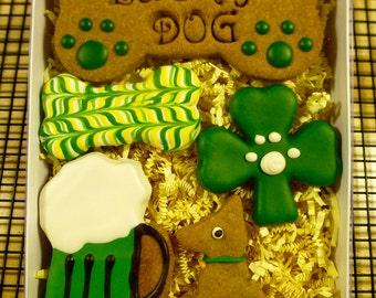 Gourmet Dog Treats: Homemade St. Patrick Dog Cookies