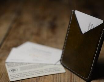 Handmade Leather Card Holder
