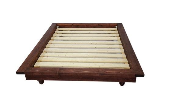 Platform Bed Platform Bed With Ledge Bohemian Bed Low