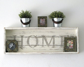 SALE HOME Shadow Box Shelf