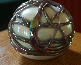Gorgeous Vintage Gibson Glass Paperweight