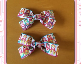 Pair of doll hair clips