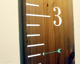 Vinyl Arrow Markers for Growth Chart