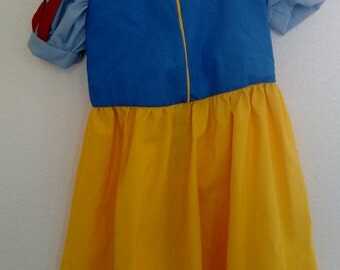 Snow White Dress (size 1/2t - 5t)