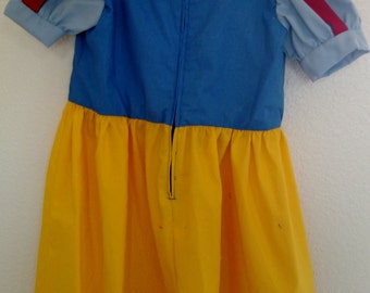 Snow White Dress (size 6-12)