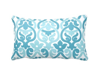 Blue Throw Pillow Cover Blue Pillow Cover Blue Lumbar Pillows Lattice Pillows Trellis Pillow Designer Pillow 12x18 Pillow Cover 12x20 Pillow