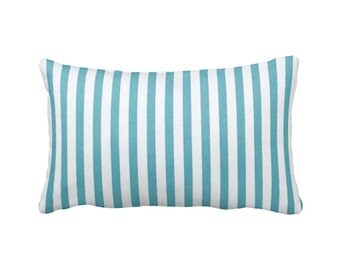 blue pillow sham blue pillowcase blue pillow cover blue lumbar pillows blue throw pillows striped pillows