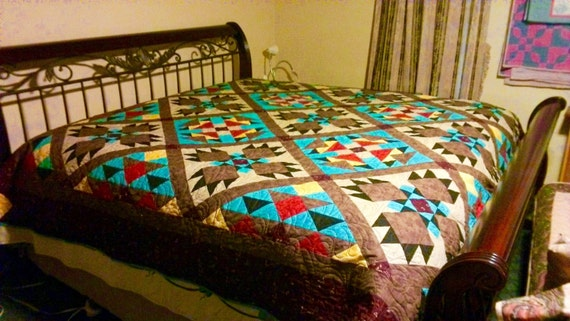 Southwest Quilt Pattern Bear Paw Indian Native American