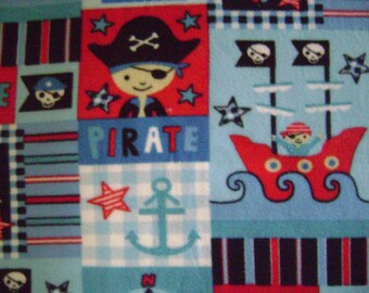 Pirate Fleece Fabric (1 yard 7 inches)
