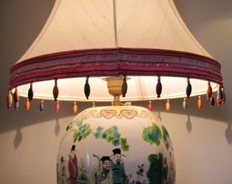Pagoda lamp in a Chinese style