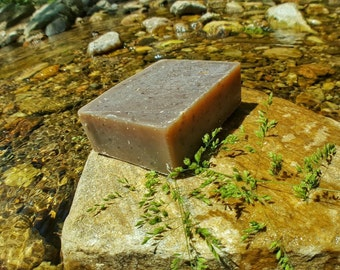 Soap - Oatmeal Milk Vegan Soap, Cold Process Soap, Bar Soap, Handmade Soap, Natural Soap, Free Shipping, Oats, Exfoliant
