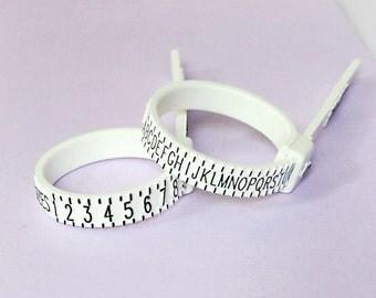 UK / US Ring Sizer // Ring Size Gauge // Ring Sizer