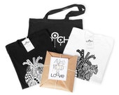 FREE 1-3 DAYS US shipping-Anatomy Heart T-shirt-graphic tee-unisex-for her and him-couples gift set-zentangle art -valentine present package