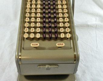 Paymaster Series 700 8 Column Keyboard Check Writer Machine Printer Dust Cover